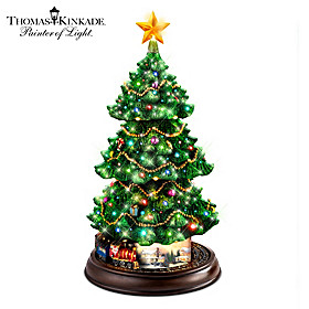 Thomas Kinkade Holidays In Motion Christmas Tree