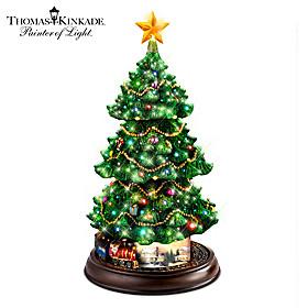 Thomas Kinkade Holidays In Motion Christmas Tree