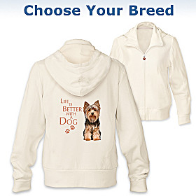 Life Is Better With A Dog Women's Hoodie