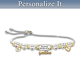 My Greatest Blessings Personalized Bracelet