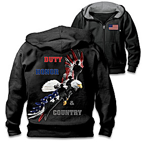 Duty, Honor & Country Men's Hoodie