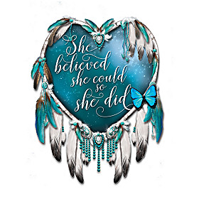 She Believed She Could So She Did Wall Decor