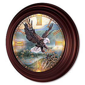 Soaring Majesty Wall Clock