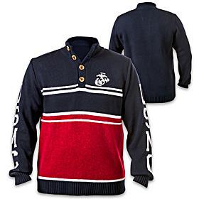 U.S. Marine Corps Men's Sweater