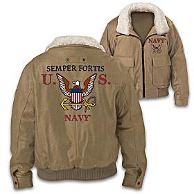 U.S. Navy Semper Fortis Men's Jacket