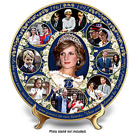 Princess Diana Legacy Collector Plate