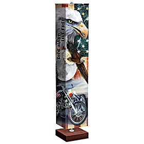 Ride Hard, Live Free Floor Lamp