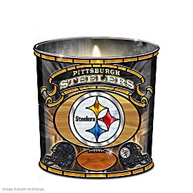 Pittsburgh Steelers Candleholder