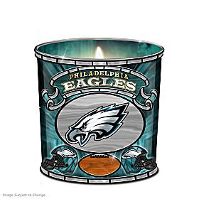 Philadelphia Eagles Candleholder