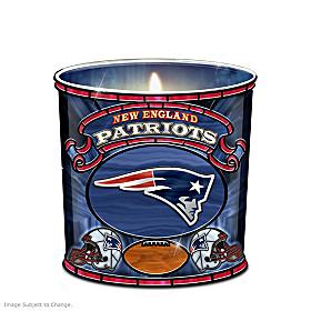 New England Patriots Candleholder
