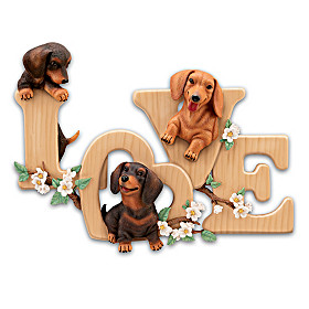 Lovable Dachshunds Wall Decor
