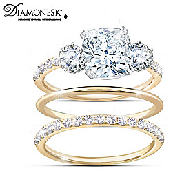 Royal Trio Ring Set
