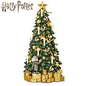 HARRY POTTER HOGWARTS Tabletop Tree