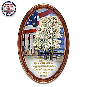 9/11 Survivor Tree Collector Plate