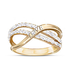 Dance Of Love Diamond Ring