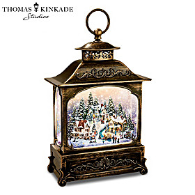 The Brightest Moments Of The Season Snowglobe Lantern