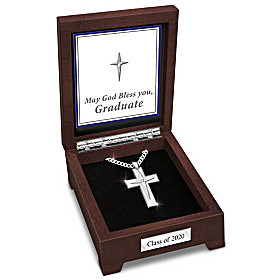 Blessed Graduate Pendant Necklace