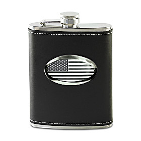 Stars And Stripes Stainless Steel Flask
