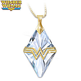 I Am Wonder Woman Pendant Necklace
