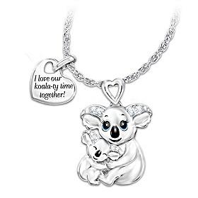Koala-ty Time Pendant Necklace