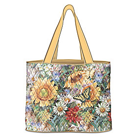 Sunflower Splendor Tote Bag