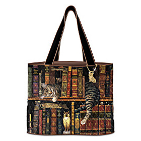 Purrfect Tales Tote Bag
