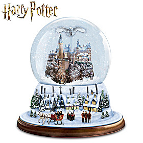 I'd Rather Stay At HOGWARTS This Christmas Glitter Globe