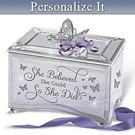 Strong Women Personalized Music Box