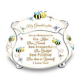 Granddaughter, Bee-lieve In Yourself Music Box