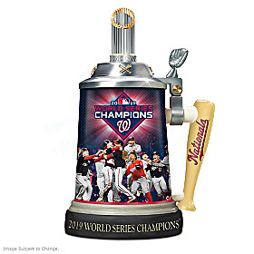Washington Nationals 2019 World Series Champions Stein