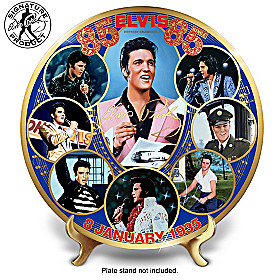 Elvis 85th Birthday Collector Plate
