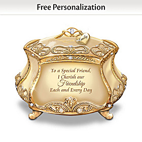 My Special Friend Personalized Music Box