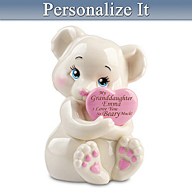 Granddaughter, I Love You Beary Much Personalized Figurine