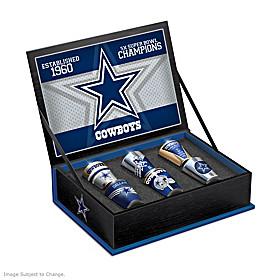 Dallas Cowboys Shot Glass Set