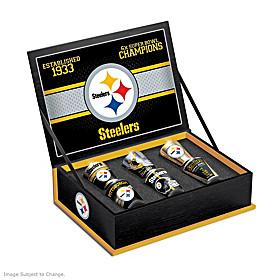 Pittsburgh Steelers Shot Glass Set