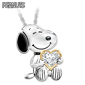 Snoopy Forever Pendant Necklace