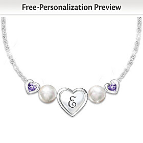 My Special Treasure Personalized Necklace