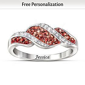 Celebrate You Personalized Ring
