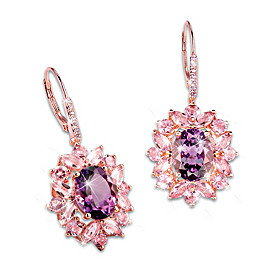 Amethyst Radiance Earrings