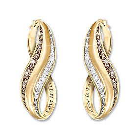 The Perfect Blend Diamond Earrings