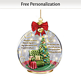 There In Spirit Personalized Ornament