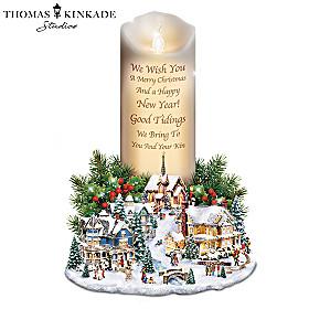 Thomas Kinkade The Brightest Holiday Wishes Candle