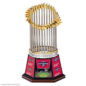 2019 World Series Champions Nationals Trophy Sculpture
