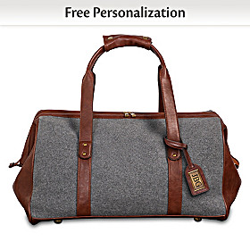 The Traveler Personalized Duffel Bag