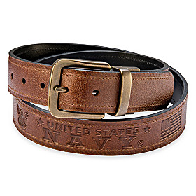 Navy Pride Men's Belt