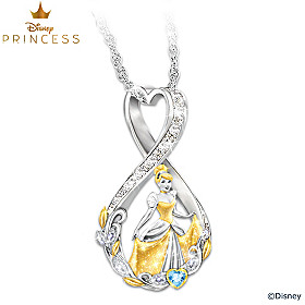 Disney Forever Cinderella Pendant Necklace