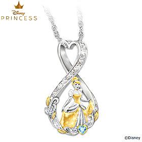 Disney Forever Cinderella Pendant Necklace