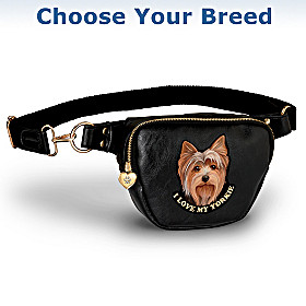 I Love My Dog Belt Bag