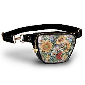 Sunflower Splendor Belt Bag