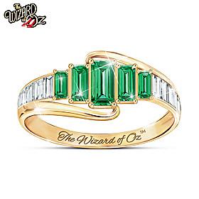 Emerald City Ring